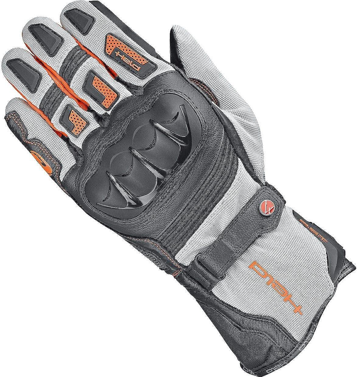 Held Motorradhandschuhe kurz Motorrad Handschuh Sambia 2in1 Gore-Tex/® Handschuh Enduro//Reiseenduro Herren Ganzj/ährig Leder//Textil