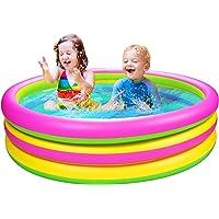 Joyjoz Piscina Hinchable para Niños 150 cm * 36 cm Piscina para Infantil Piscina Jardín Juguetes…