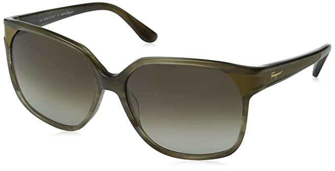 40351ab84f3 Image Unavailable. Image not available for. Color  Salvatore Ferragamo  Women s SF622SL Sunglasses ...