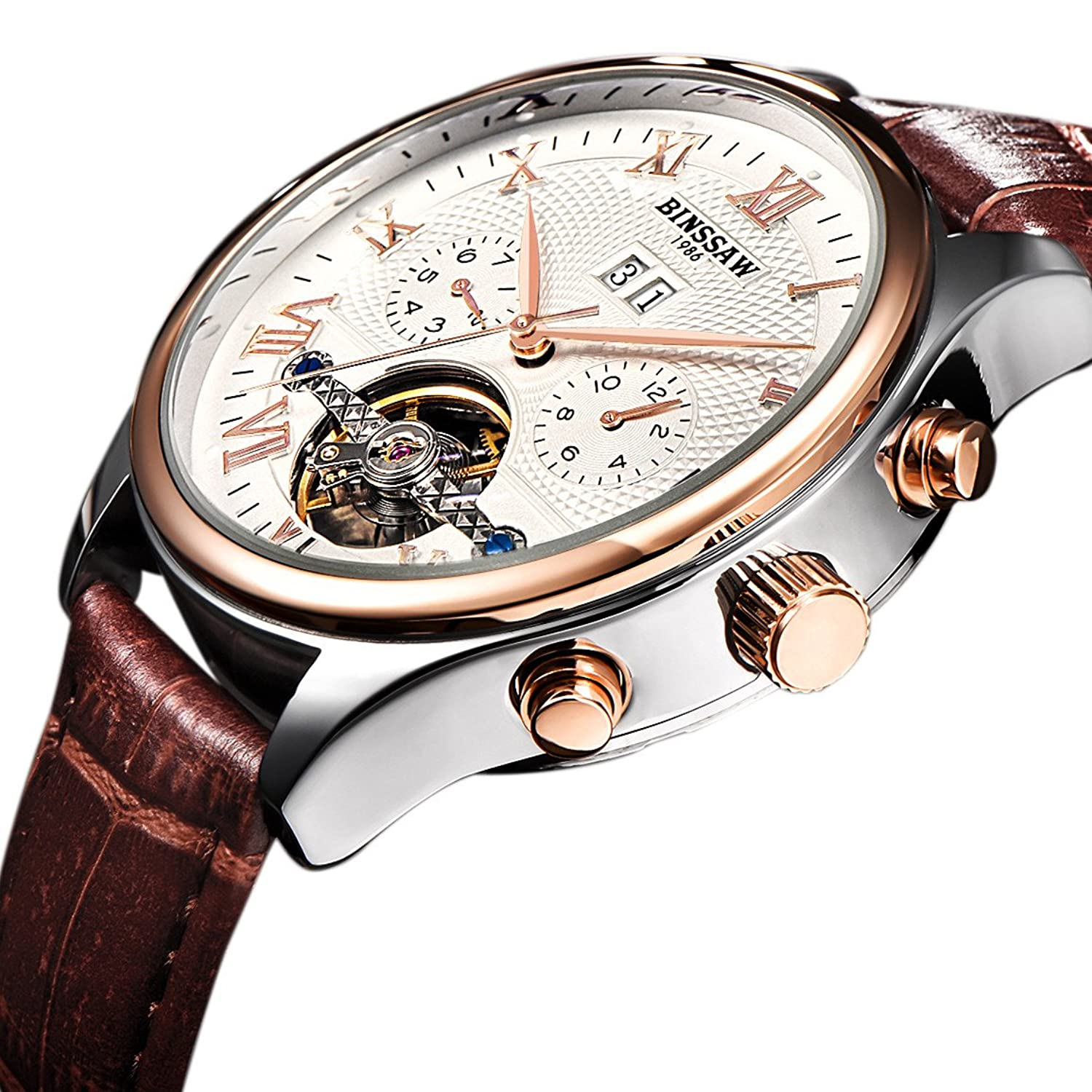 Men's Tourbillon Automatic Mec...