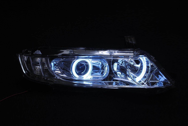 オデッセイRB1/2 CCFLイカリングヘッドライト フルクリスタル 前期後期適合 APC-OD01 B00AGIZW8Q