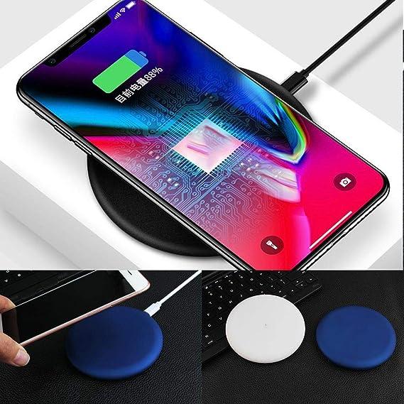 Erholi New Ultra-thin Wireless Charger Fast Charging Round Wireless Charger Charging Stations