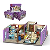 TENHORSES Monica's Apartment Building Blocks, Ideas from Central Coffee Shop, Creative House Building Bricks Kit Toy for Love