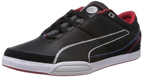 Puma Men s BMW M Dorifuto 2 Black Leather Sneakers - 9.5UK India (44EU 0792e370a