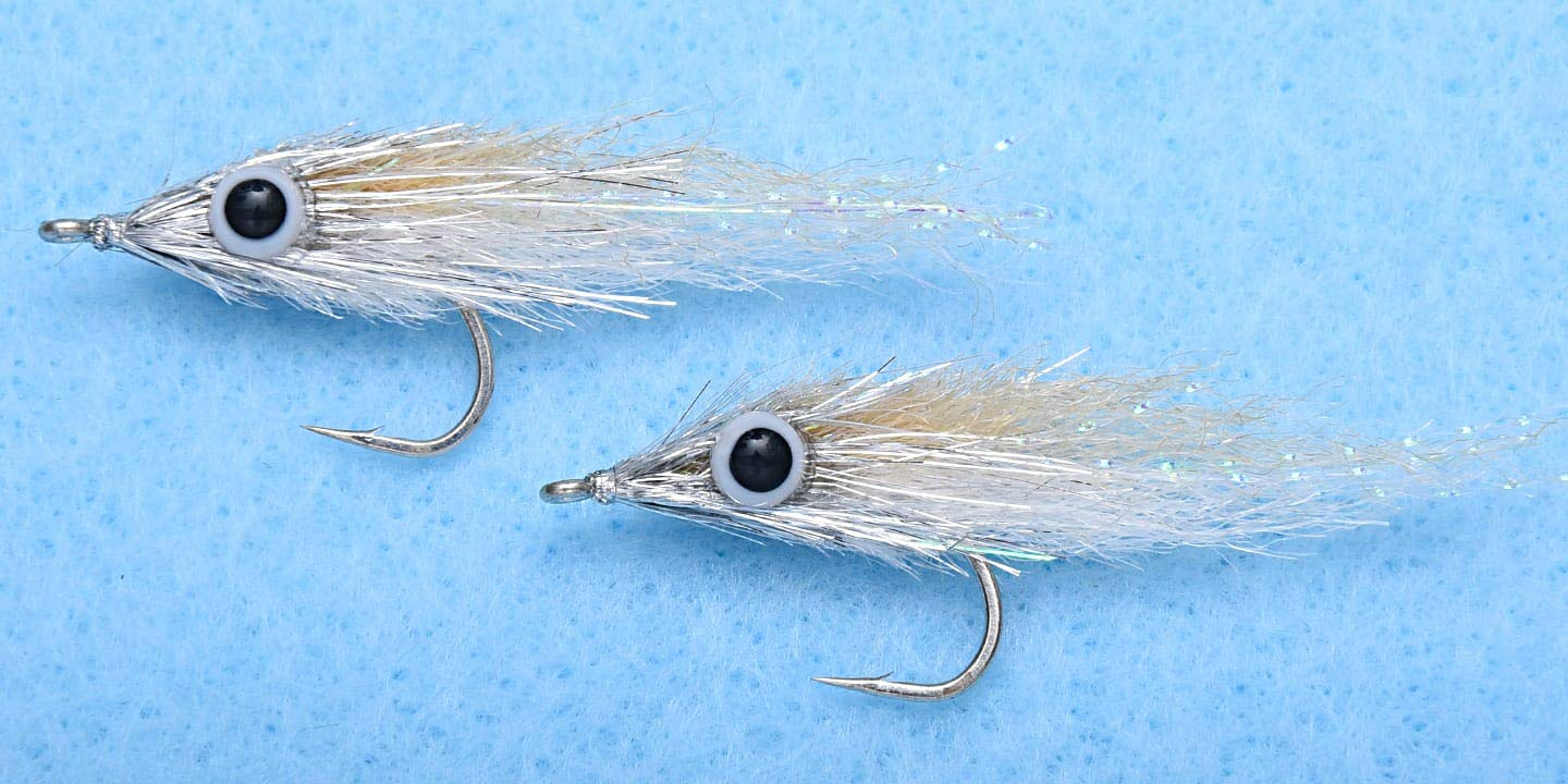 Enrico Puglisi Micro Minnow #2 TAN /4 Flies per Pack