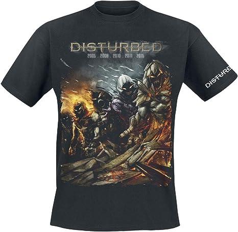 Disturbed Evolution - The Guy Hombre Camiseta Negro, Regular: Amazon.es: Ropa y accesorios