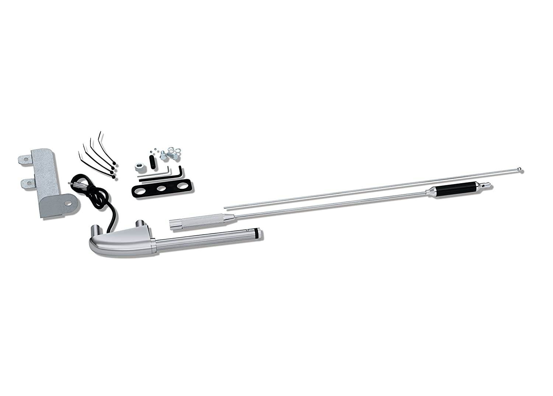 CB Antenna Kit 52-575 Show Chrome Accessories