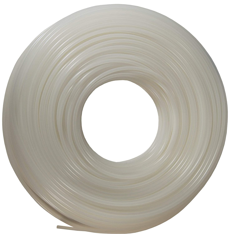 "Dixon 0817 Polyethylene Tubing, DI087002, 1/4"" OD, 0.170"" ID, 0.040"" Wall, Natural"