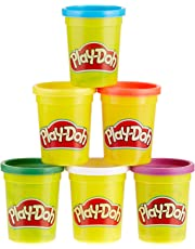 Play-Doh Hasbro C3898EU4 6er Pack Grundfarben, Knete