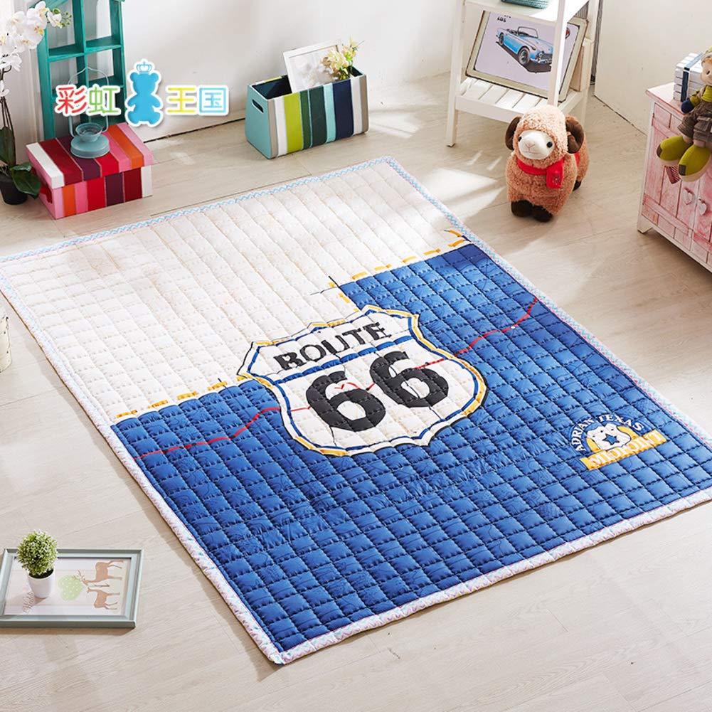 H 200x150cm(79x59inch) Baby crawling mat Cartoon animal foam Pad Nonslip thick Carpet Non toxic Baby play Game matress Soft floor mat H 200x150cm(79x59inch)