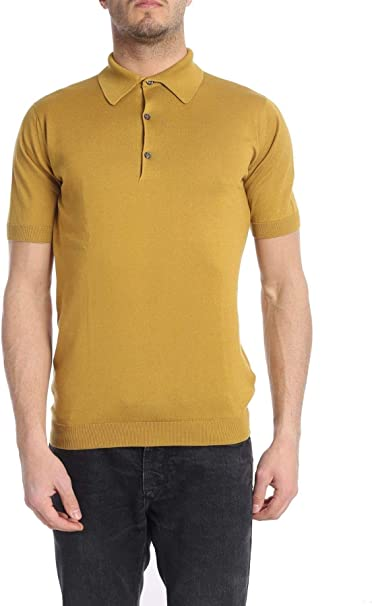 yellow polo shirt fashion