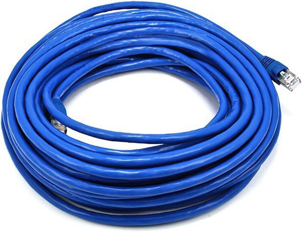 Blue Monoprice CAT 6 500MHz UTP 20FT Cable