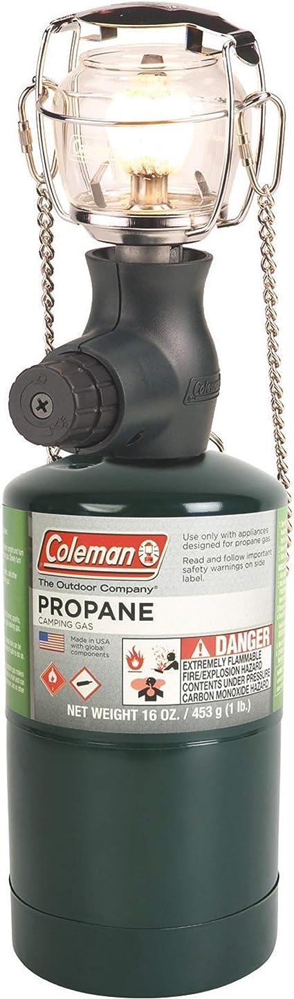 Coleman Linterna de Gas | 300 lúmenes Compact 1 Manto Propano Linterna