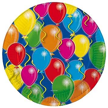 8 platos * * Globos para fiestas y cumpleaños infantiles ...