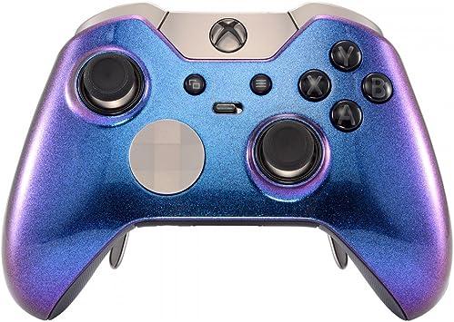 eXtremeRate Carcasa con 2 Anillos para Mando Xbox One Elite ...