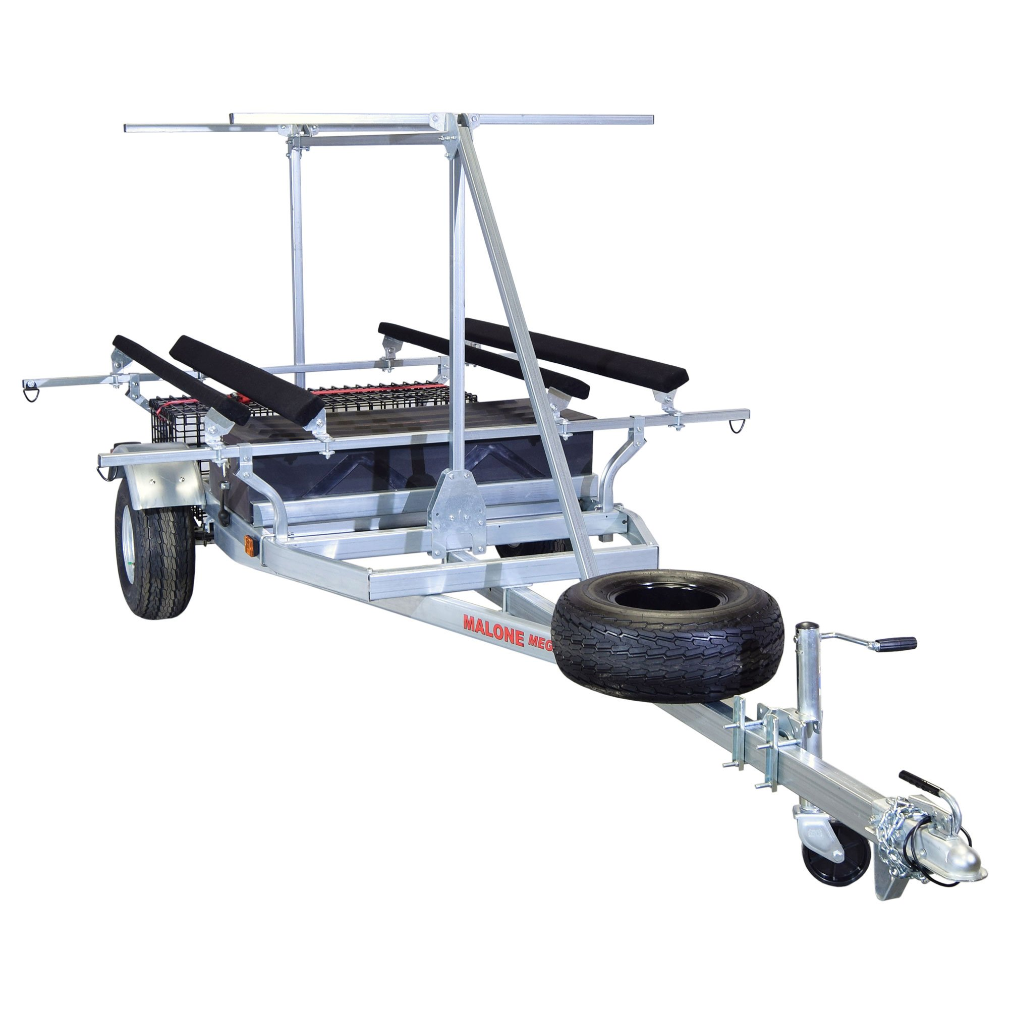 Malone MegaSport 2-Boat Hobie PA Trailer Package w/ 2nd Tier by Malone