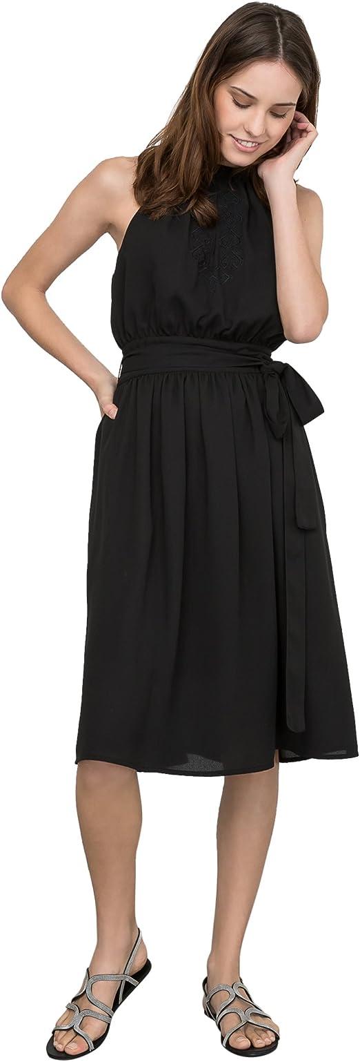 La Redoute Atelier R Frau Besticktes Kleid, Amerikanischer
