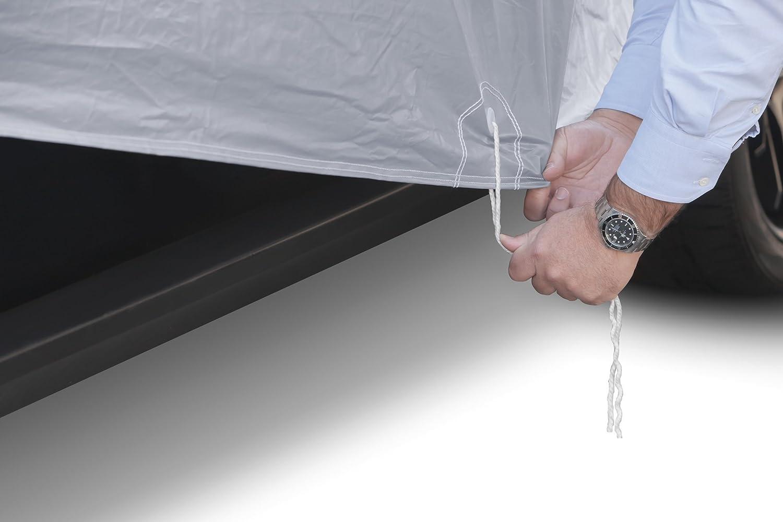 doble capa sint/ética y de finas trazas de algod/ón por el interior Funda exterior premium para Renault MEGANE GRAND TOUR transpirable para evitar la condensaci/ón en el parabrisas. impermeable