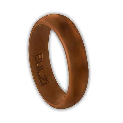 Amazon Com Bulzi Massaging Comfort Fit Silicone Wedding Ring