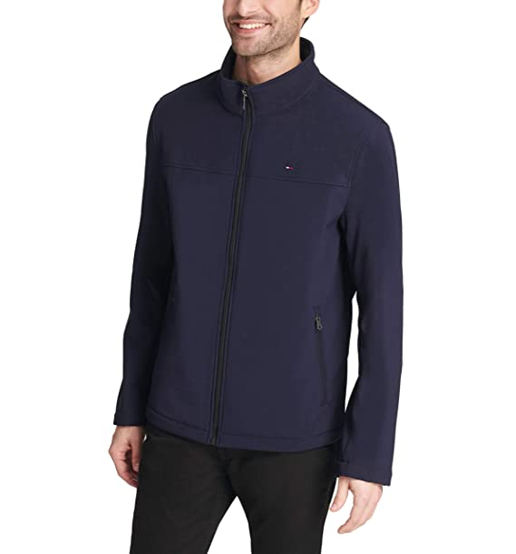 966fd0d1 Tommy Hilfiger Men's Classic Soft Shell Jacket (Regular & Big-Tall Sizes),