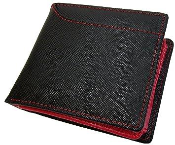 d77b5606f23c 粋な牛革イタリアンレザー二つ折り財布カードスライダー付 [ Maturi 0571 ] 誕生