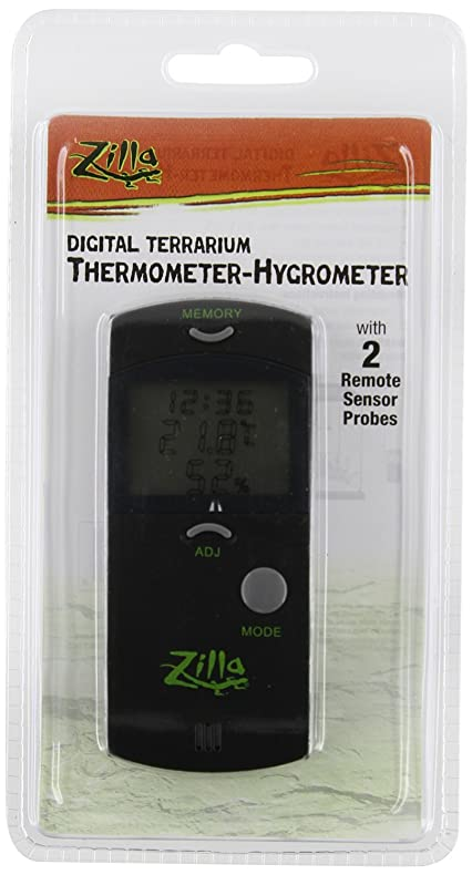 Hygrometer Digital Thermometer Clock with Alarm & Calendar