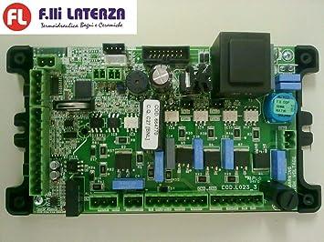 EDILKAMIN tarjeta electrónica tarjeta l023 + tapa Cod ...