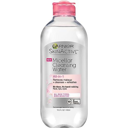 Garnier SkinActive Água de Limpeza Micelar, Para Todos os Tipos de Pele, 13.5 fl. onça &quot;largura =&quot; 277 &quot;altura =&quot; 277 &quot;/&gt; </p> </p> <h3> Limpador </h3> <p> Um produto de limpeza diário é perfeito para garantir que toda a sujidade se foi e a nossa pele está isenta de resíduos remanescentes do passo anterior. Use um especificamente para o seu tipo de pele e obtenha melhores resultados. </p> <p> <img class=
