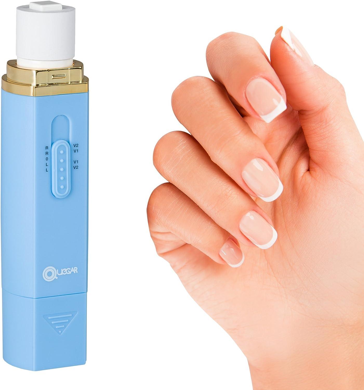 Lima electrica uñas cuticulas para manicura uñas electrico y pedicura, limas eléctricas para el brillo y cuidado de las uñas. Pulidor de uñas set de manicura profesional, elimina piel muerta uñas