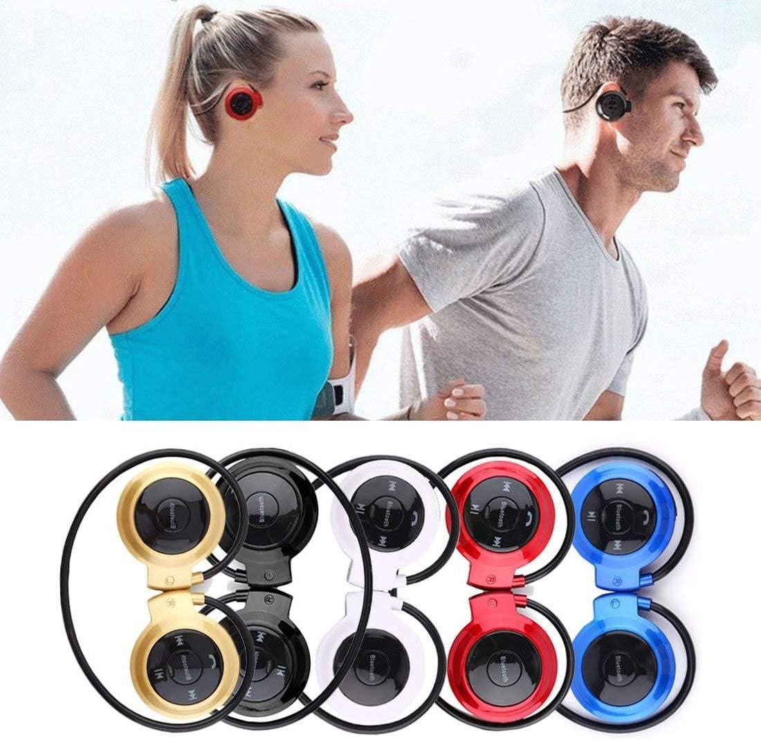 MINI503 Gancho para la Oreja Mini Deportes Inalámbrico Auriculares Bluetooth Hi-Fi Manos Libres Estéreo Auriculares Auriculares TF Tarjeta para Reproductor de MP3