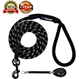 Dog Leashes for Medium and Large Dogs Mountain Climbing Rope Dog Leash 6 ft Long Supports the Strongest Pulling Large and Medium Sized Dogs(Free Dog Training Clicker)