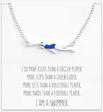 Swimming Necklace