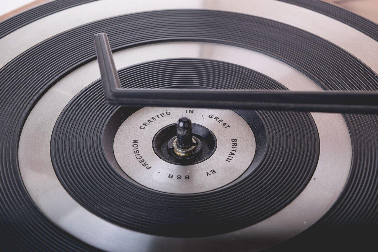 Tocadiscos de Mesa 5010 Fabricante BSR País UK años 70 Color ...