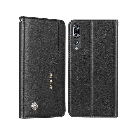 tui à Clapet cuir Noir Huawei P20 Pro eqxzSzabz