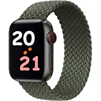 NUKELOLO Sport Band Compatible with Apple Watch 38MM 40MM 42MM 44MM,Soft Silicone Replacement Strap Compatible for Apple…