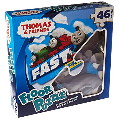 Fast Friends Floor Puzzle: Toys & Games