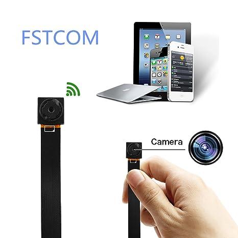 fstcom cámara espía cámara oculta Micro espía Mini Camera WiFi Cámara espía WiFi Cam IP Mini