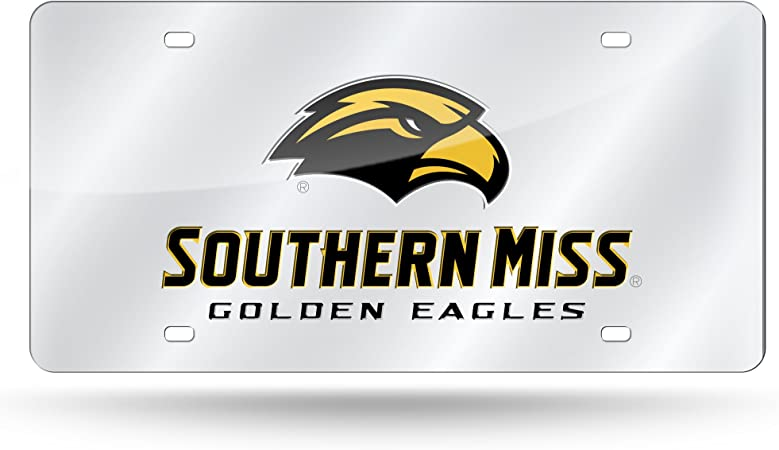 NCAA Rico Industries  Die Cut Vinyl Decal Southern Mississippi Golden Eagles