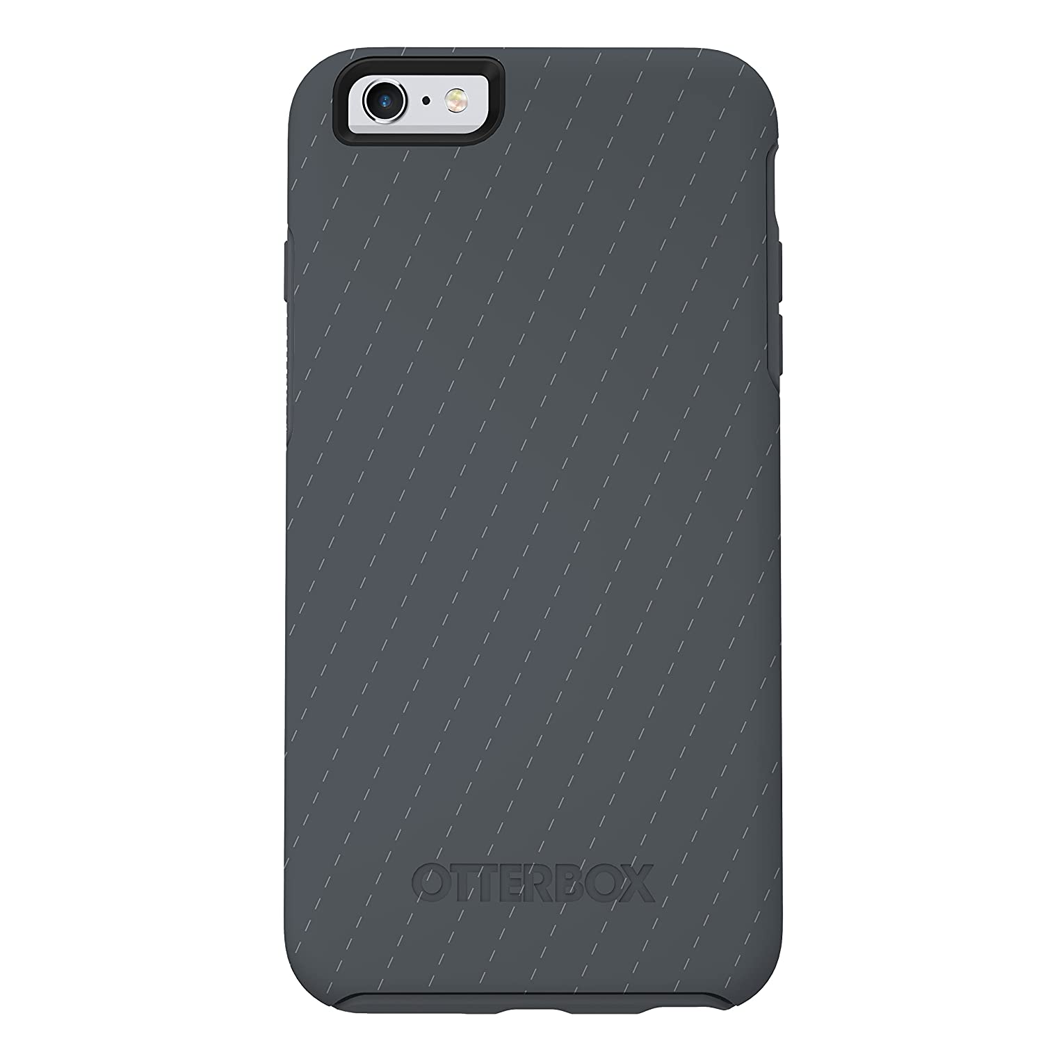"""NEW OtterBox SYMMETRY SERIES Case for iPhone 6/6s (4.7"""" Version) - Retail Packaging - PINSTRIPES (SLATE GREY/SLATE GREY/PINSTRIPE)"""