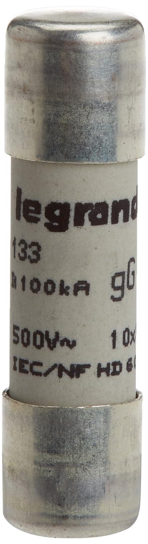Fusibile 10 x 38 mm 10 A tipo GG Legrand 013310