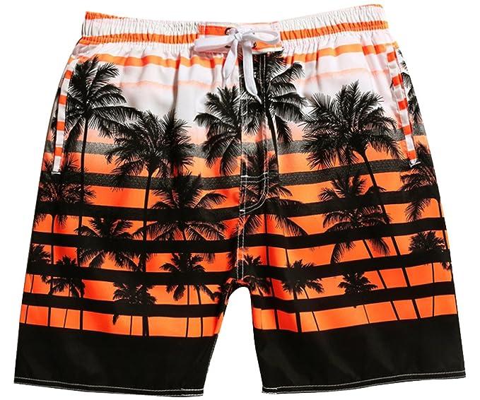 Quick Shorts Boardshorts Men's Swim Stretch Trunks Dry Surf Beach Hybrid Coconut qpVzMUS