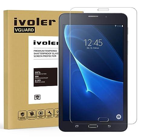 caaf0bbd0e2d1f iVoler Vetro Temperato Compatibile con Samsung Galaxy Tab A 7.0 Pollici  2016 (SM-T280