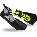 Wildhorn Topside Snorkel Fins- Compact Travel, Swim, and Snorkeling Flippers for Men and Women. Revolutionary Comfort on Land