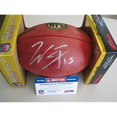 5a715010ffa Will Fuller Signed Autograph NFL Football PSA/DNA Certified ...