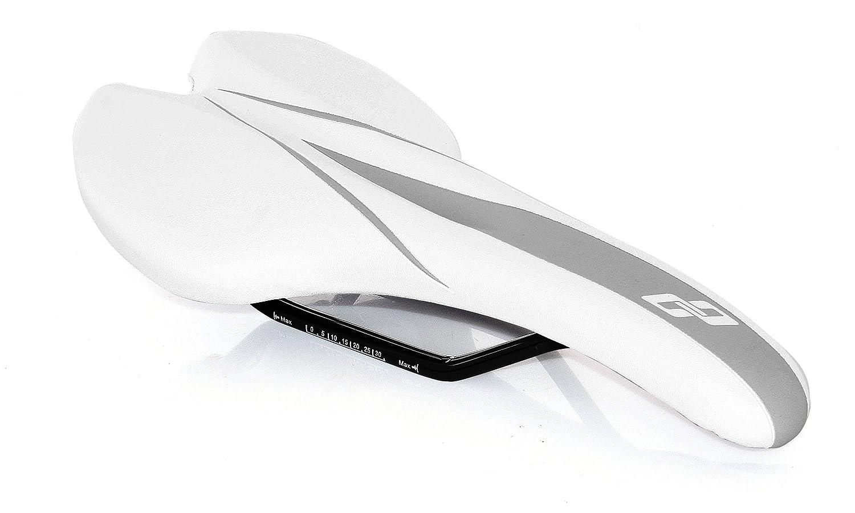 Ghost Herrensattel Saddle Comfort Man VL-1535 Color White//Grey Ghost Bikes 14160