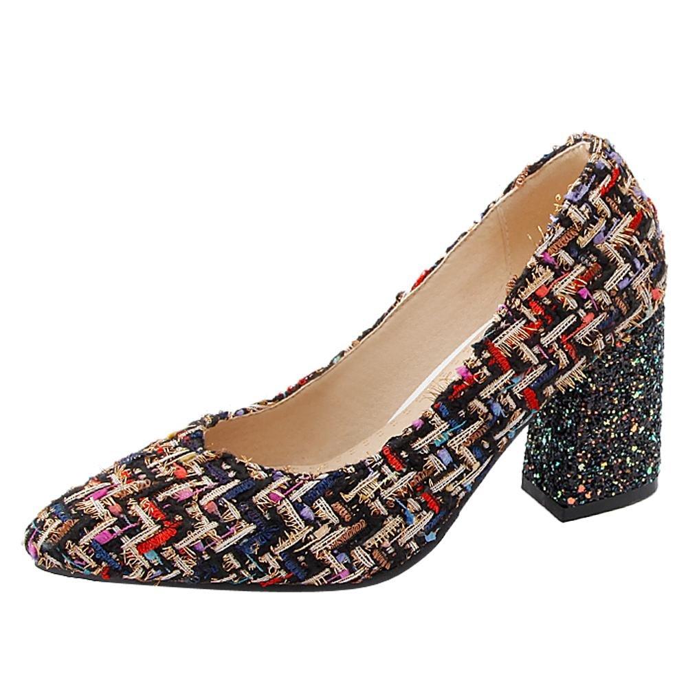 MissSaSa Donna Elegante Scarpe colori