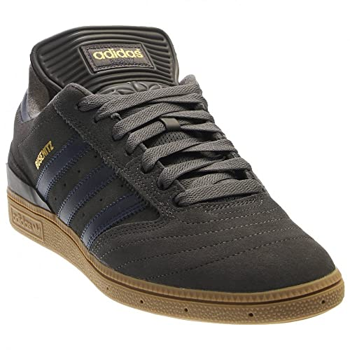online store ab6b0 5f25e Adidas Mens Busenitz Pro Skateboard Shoe Solid Grey Collegia