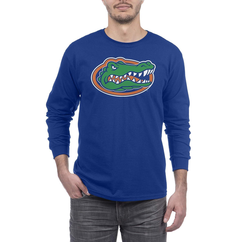 ea8368ee Amazon.com : Elite Fan Shop NCAA Mens Long Sleeve Shirt Team Color Icon  Touchdown : Clothing