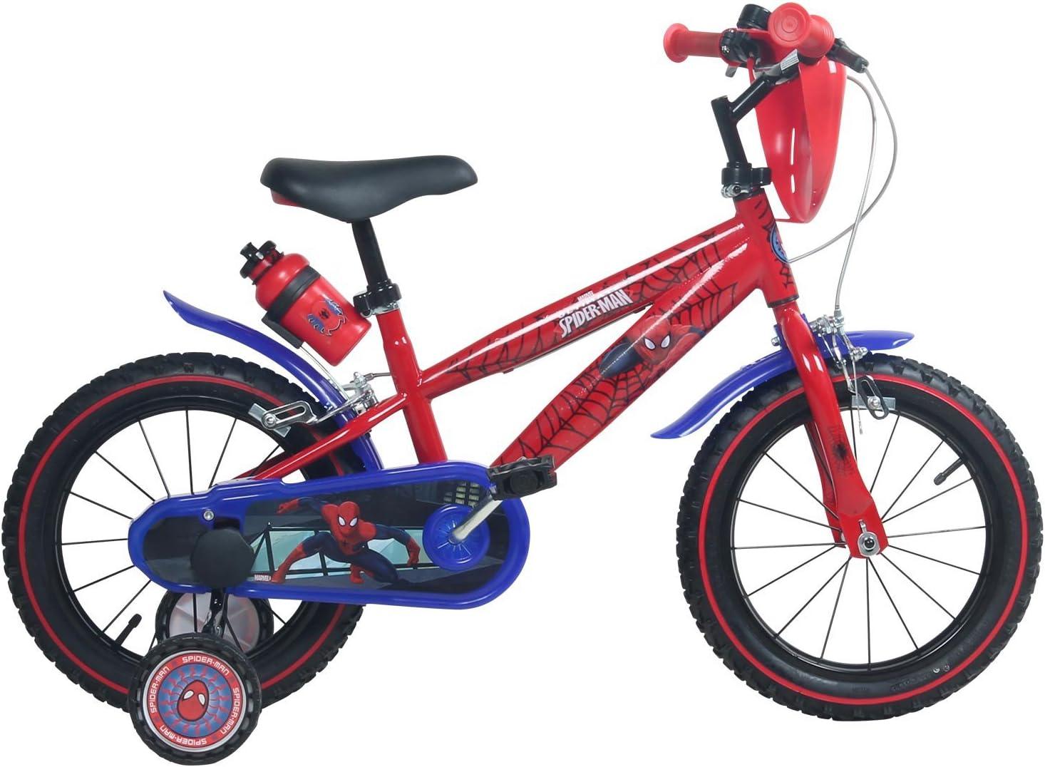 Spiderman 14 Pulgadas Bicicleta Marvel Niños para niños a Partir ...
