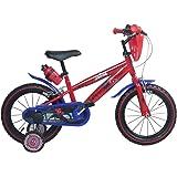 14 Zoll Marvel Spiderman Kinderfahrrad Fahrrad für Kinder ab ca. 3,5 Jahren